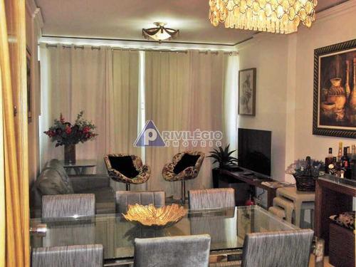 Apartamento À Venda, 3 Quartos, 1 Suíte, Copacabana - Rio De Janeiro/rj - 6908