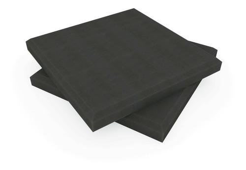 Imagen 1 de 6 de Placa Panel Acustico Absorbente Liso 500x500x50mm Basic