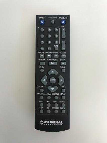 Controle Do Home Theater Mondial Ht-07 - C/ Defeito Oxidado