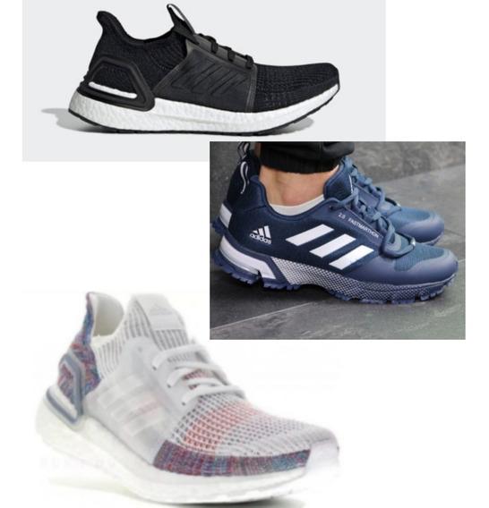 zapatos de temperamento salida para la venta invicto x Tenis Adidas Marathon 3d Hombre Ropa Tenis Negro en