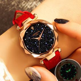 Relógio Feminino De Pulso Céu Estrelado - Xiaoya Luxo 1290