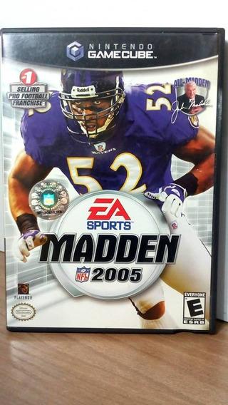 Madden 2005 Game Cube Usado