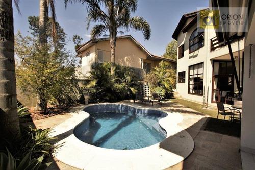 Casa Com 4 Dormitórios À Venda, 350 M² Por R$ 1.620.000,00 - Morada Das Flores (aldeia Da Serra) - Santana De Parnaíba/sp - Ca0699