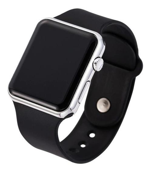 Relógio De Pulso Digital Led Masculino Feminino