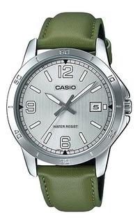 Reloj Casio Formal Mtp-v004l-3b Agente Oficial Gtia 2 Años