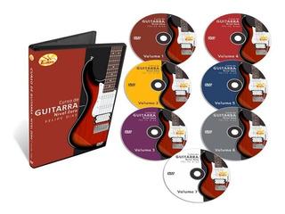 Coleção Curso De Guitarra Nível Zero 7 Dvds -original
