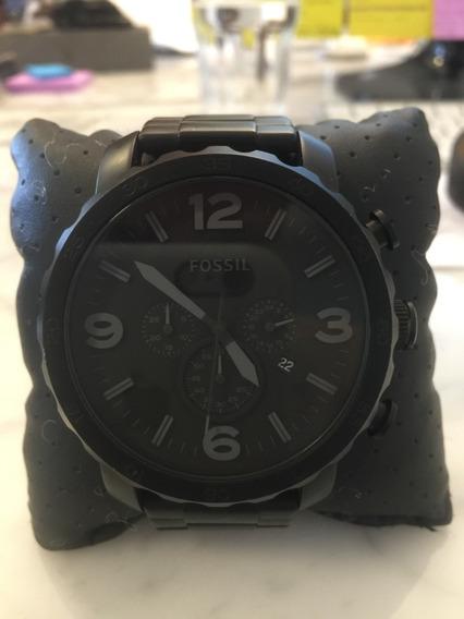 Relógio Fossil/preto Fosco - Original