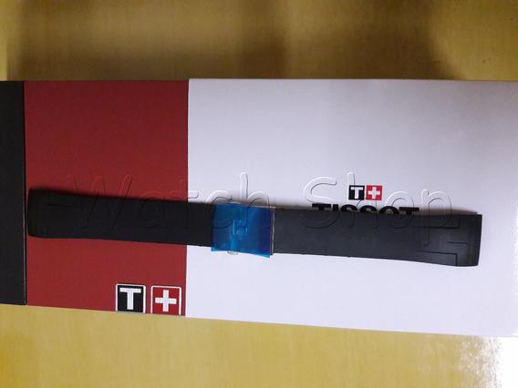 Pulseira De Borracha Tissot T035617a 23mm Preto Original