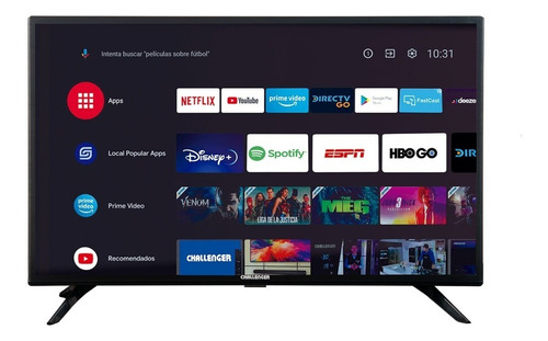 Imagen 1 de 7 de Televisor Challenger 32 Pulgadas  Android Tv Hd
