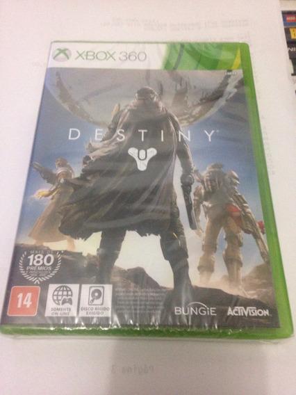 Destiny Lacrado Jogo Original Para Xbox 360