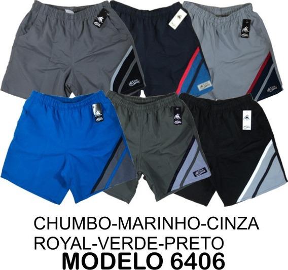 5 Shorts Masculino Microfibra P-m-g-gg-xgg-g1-g2-g3