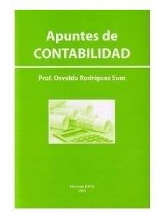 Apuntes De Contabilidad Prof Osvaldo Rodríguez Sum