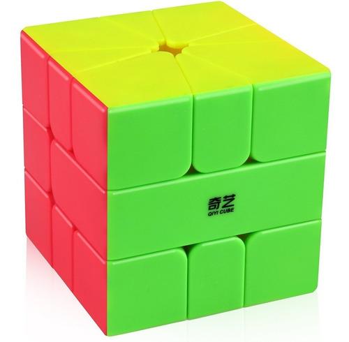 Cubo Rubik Square 1 Qiyi Qifa Stickerless Sq1 + Base + Lubri