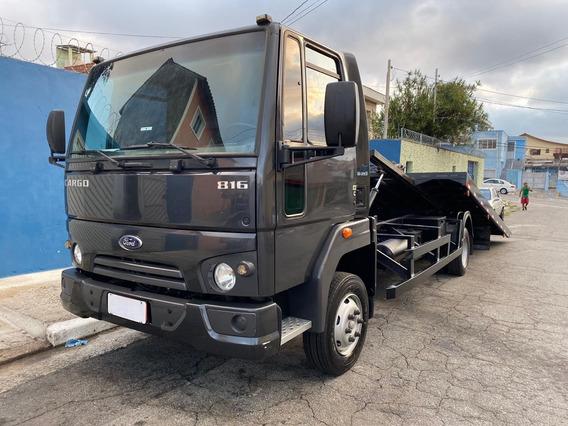 Ford Cargo 816s 2015 - Revisado - Baixo Km