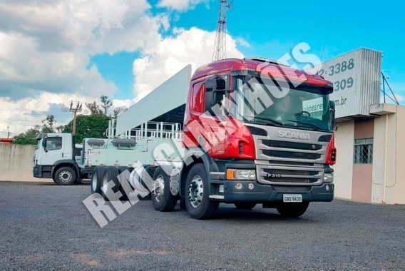 Scania P310 Bitruck 2015 Completa Automatica Real Caminhoes