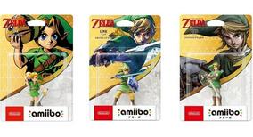 Amiibos Link Majora