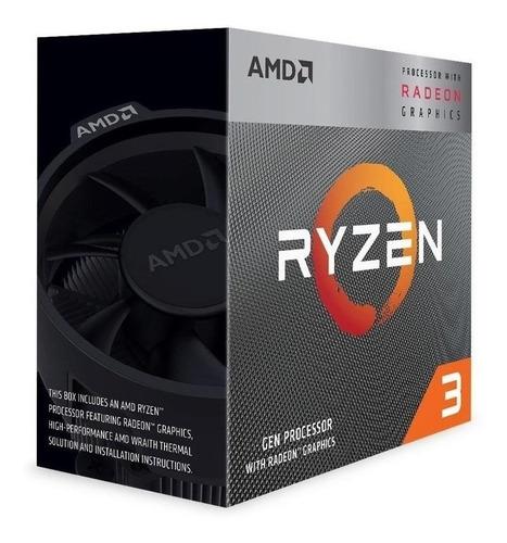 Processador Gamer Amd Ryzen 3 3200g Yd3200c5fhbox