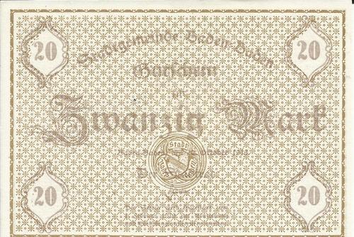 Imagen 1 de 2 de Alemania 20  Marcos 1918