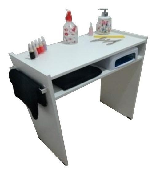 Mesa P/manicure 60cm Prateleira P/estufa C/alças P/toalha