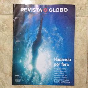 Revista O Globo 7/8/2016 Nadando Por Fora Patrícia Farias