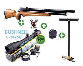 Pack Rifle Pcp M22 + Bombin + Mira 6-24*50 + Envio + Regalos