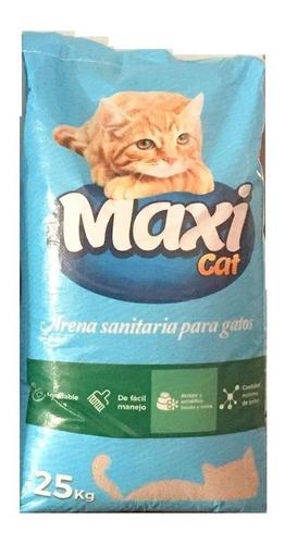 Arena Para Gatos Maxi Cat 25 Kg
