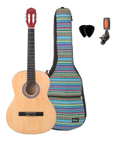 Guitarra Clásica Adulto Con Funda Acolchada Y Afinador