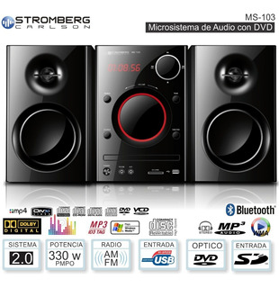 Stromberg Mc1003 Usb Bluetooth Cd Dvd Mp3 Sd //micro /c Remo