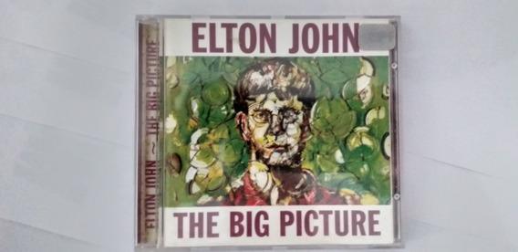 Cd Elton John The Big Picture Nacional Excelente Envio Carta