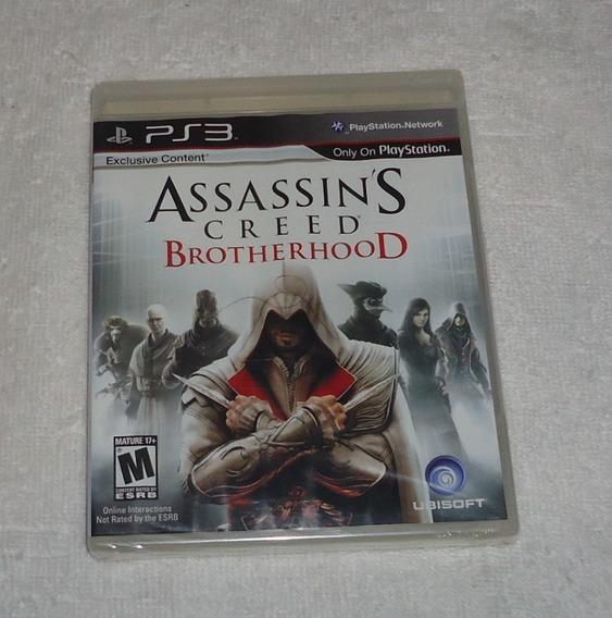 Assassins Creed Brotherhood Ps3 ** Frete Grátis Leia