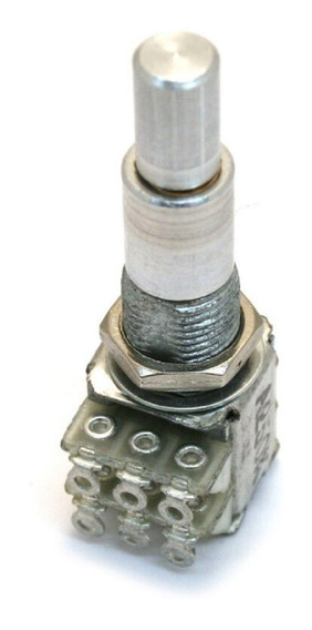 Potênciometro Concentrico Alpha Duplo Center Click B50k