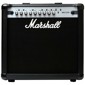 Amplificador Combo P/ Guitarra Carbon Fiber Mg50fx Marshall