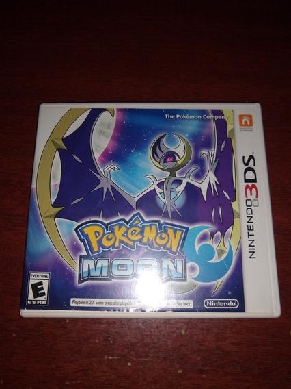 Pokémon Moon 3ds Original Americano