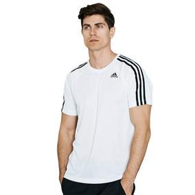 6458b098f0d Camiseta 3 Stripes Adidas - Camisetas Manga Curta no Mercado Livre ...