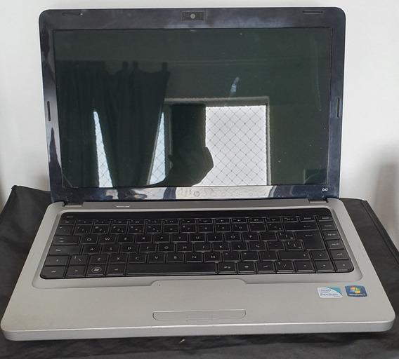 Notebook Hp G42 221br Com Defeito Vide Descrição