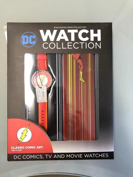 Relógio - Flash - Coleção Dc Watches Eaglemoss