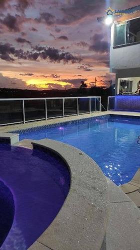 Chácara Com 2 Dormitórios À Venda, 1000 M² Por R$ 850.000,00 - Jardim Santo Antônio - Atibaia/sp - Ch1314