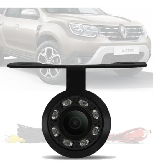 Camera De Ré Borboleta Led Visão Noturna Renault Oroch