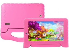 Tablet 7 Kid Pad Plus 8gb Quad Core Rosa Nb279 Multilaser