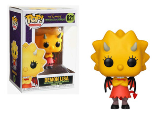 Funko Pop - Demon Lisa - N° 821 - The Simpsons Treehouse Of