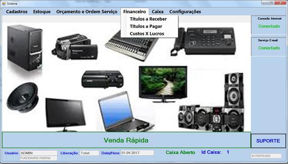 Software Pdv E Ordens Serviço Lojas E Assistencias Em Geral