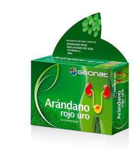 Geonat Arandano Rojo Uro Suplemento Dietario 30 Comp
