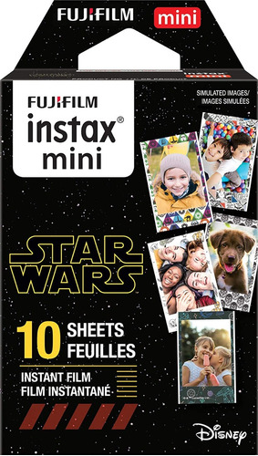 Imagen 1 de 3 de Fujifilm Instax Mini 9 Star Wars 10 Peliculas