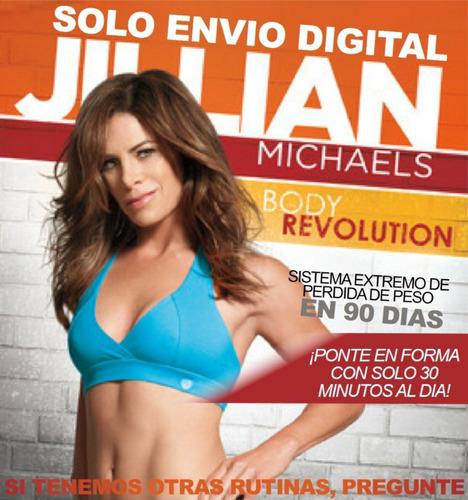 Jillian Michaels Body Revolution Ejercicio Fitness Sin Pesas