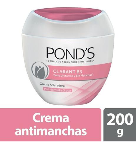 Crema Facial Ponds Clarant B3 Piel Normal A Grasa X 200g