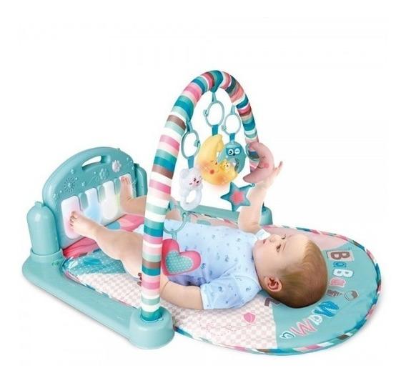 Tapete De Atividades Piano Musical Coruja - Color Baby X4178