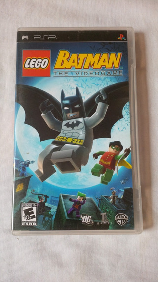 Lego Batman The Videogame Psp Original Completo