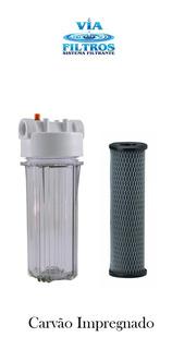 Filtro Para Chuveiro Snic C/ Impregnado Transparente