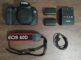 Kit Câmera Canon Eos 60d Em Perfeito Estado