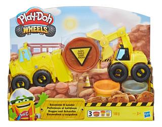 Play-doh Wheels Vehículos De Construcción